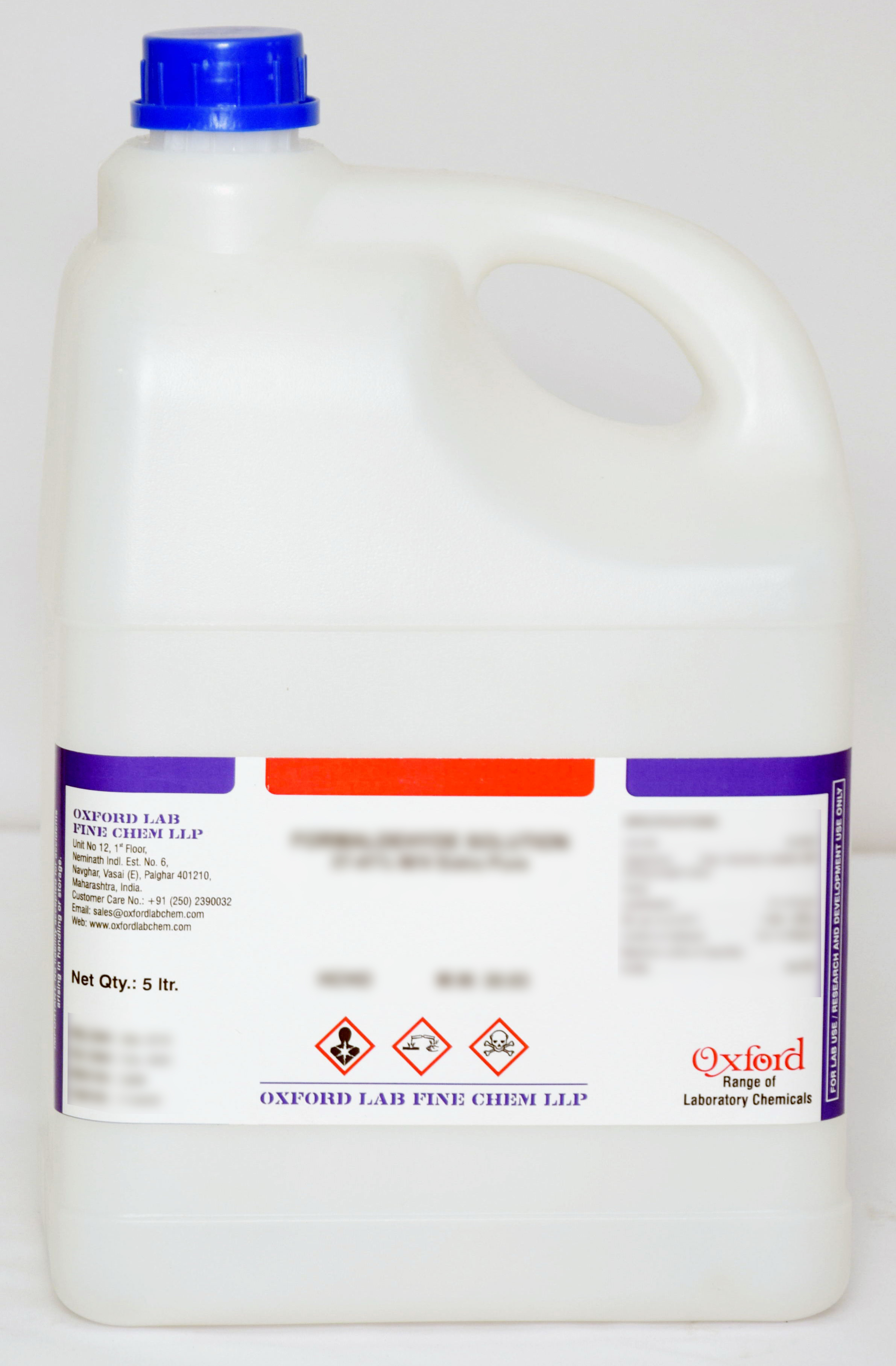 AMMONIA SOLUTION 25% Extra Pure